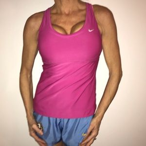 Pink Nike Top